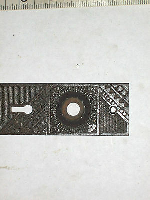 Antique Eastlake Victorian Era Steampunk Door Knob Backplate 4
