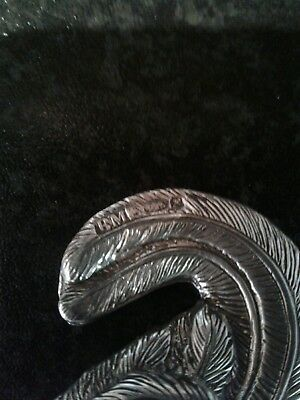 Pair Antique Novelty Silver Bird Pepper Shaker Bernard Muller Dated 5