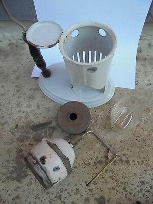 29671 Alter antiker Inhalator Inhaliergerät  Emaille 6