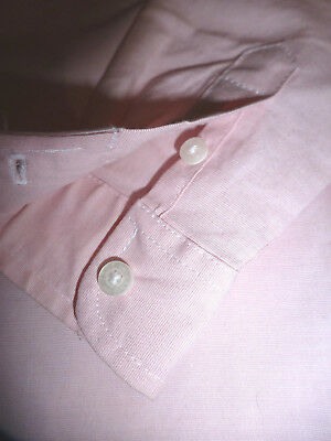 Janie And Jack Pink Boys Shirt Size 3 4