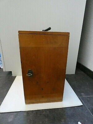 (4816) Altes Mikroskop W u. H. Seibert Wetzlar Nr. 40557 mit Zubehör 2