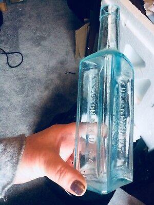 Quack Dr D Kennedys Favorite Remedy Kingston N.y. Apld Lip Hinge Mold Bottle 5