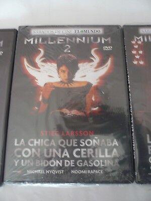 Oferta Liquidacion Trilogia Millennium 3 Dvd ( Nuevos Precintados ) 3