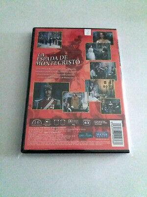 """Dvd """"La Espada De Montecristo"""" Como Nuevo Maurice Geraghty William Conrad Rita C 2"""