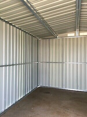 Mighty Metal Garden Shed Outdoor Storage House Tool Sheds with Free Foundation 6