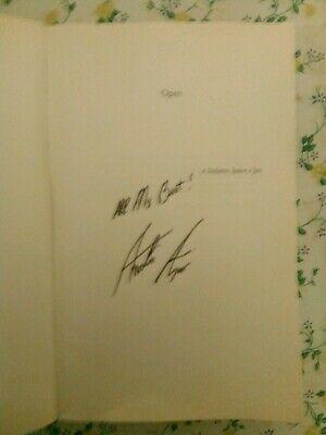 Libro Open autografato da Andrè Agassi ex campione di tennis 3