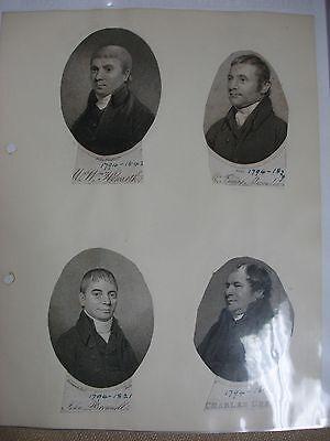 Methodist Portraits Collection - Circa 1800's 4