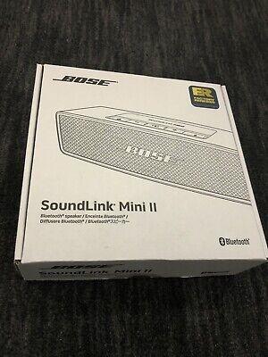 BOSE SOUNDLINK Mini II Bluetooth Speaker BLACK COPPER 725192111R 1-Year Warranty 2