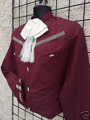 68084d11c2 MEXICAN WESTERN SHIRT Stitched Charro Gala. Camisa Charra Espuela De ...