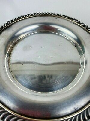 Stanley Home Products National Silverplate Wine Coaster Plate 5