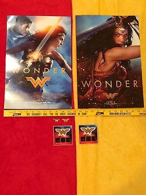 Wonder Woman movie posters Gal Gadot lot,Rebirth #1,Batman,Superman, Rare,Bonus 2