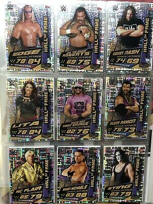 Topps WWE Slam Attax Universe,Complete Set 349 Cards + Collectors & 7 Limited 5
