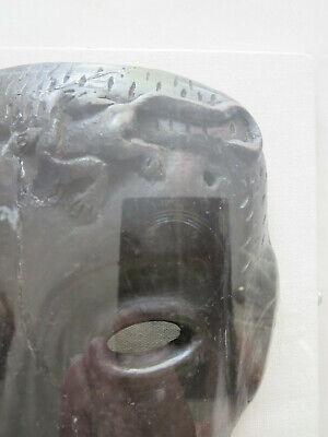 Antique Roman Greek Framed Clay Mask 10