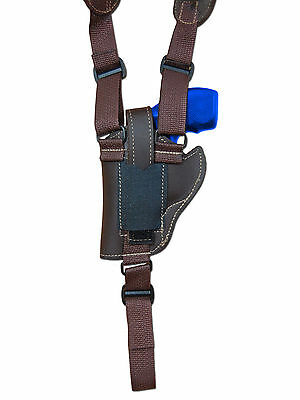 NEW Barsony Natural Tan Leather Horizontal Shoulder Holster Charter