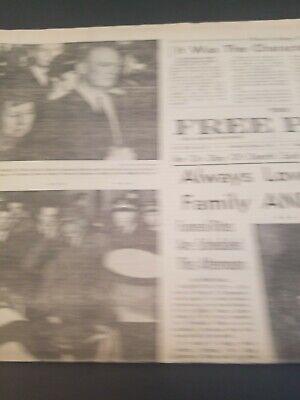 Vintage 1969 March 31 Free Press   Original  Newspaper Ike Dwight Eisenhower 3