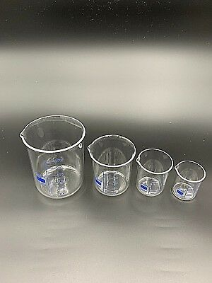 Quartz Beakers, Low Form with Spout, 1000ml Size, High Temperature up to 1000°C 3