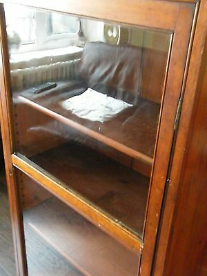ANTIQUE CHEIMIST SHOP DISPLAY CABINET LIBRARY BOOKCASE COLLECTORS CABINT c1890 12