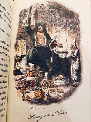 A Christmas Carol by Charles Dickens Deluxe Hardcover Collectible Slipcase 7