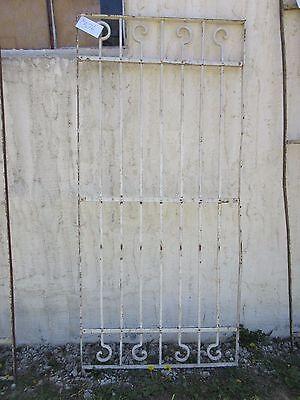 Antique Victorian Iron Gate Window Garden Fence Architectural Salvage Door #376 5