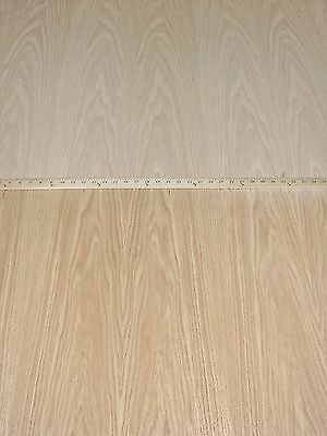 "White Oak wood veneer 5/"" x 96/"" with paper backer A grade quality 1//40/"" thickness"