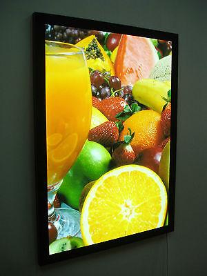 A0 SLIM LED LIGHT BOX POSTER DISPLAY -Menu Board Sign Poster Display Lightbox 2