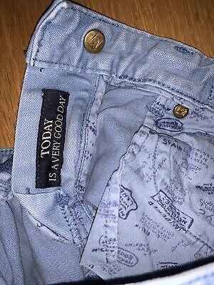 Gorgeous Boy's Cotton Designer Jeans.. By Scotch Shrunk & Soda Age 6 - LOOK! 👀! 6