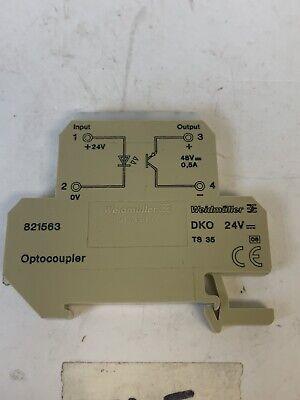 Weidmuller 8398940000   MZC O 5VTTL NEW 5...48V 100mA Optocoupler