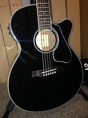 AEG10ii Pickguard /& Armrest Combo 1Ply Black Acoustic for Ibanez Guitar Project