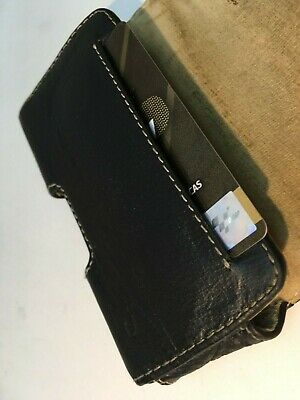 Leather Horizontal Belt Case Pouch for Apple iPhone 4 4S, with Belt Clip 5