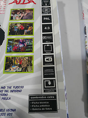 Aida Temporada 3 Tercera Completa - 4 Dvd Edicion Especial En Caja - Am 4