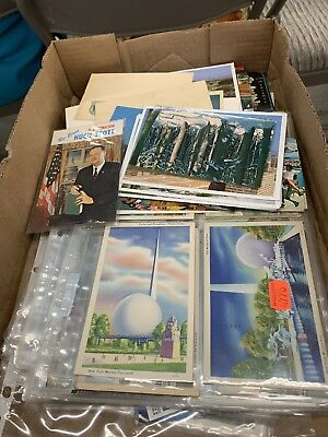 Lot of 50 Antique & Vintage Postcards,1900s-1970s. All USA. Used And Unused !! 3