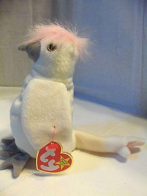 TY Beanie Babies White Bird ** KUKU ** 5th Generation New w/ Tag