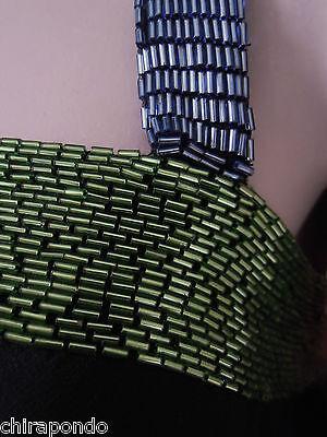Abendkleid Gr. 36 Gr. 38  schwarz blau grün Pailletten erotisch CLASS Godet 3
