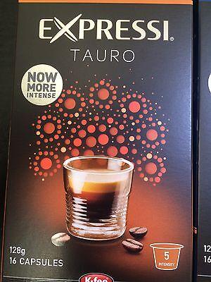 Expressi K-fee Coffee Machine Capsules Pods ALDI - 160 caps (10 boxes) u choose 9