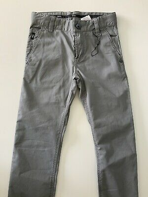 Hugo Boss Boys Slim Fit Jeans, Size Age 8 Years, 126. M, Grey, VGC 2