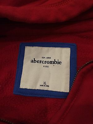Girls Red Size XL Abercrombie & Fitch Hoodie 4