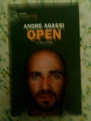 Libro Open autografato da Andrè Agassi ex campione di tennis 2