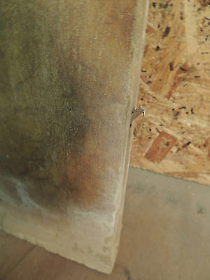 Antique 19c American Grain Painted Fireplace Mantel - Pine & Square Nail VR 7