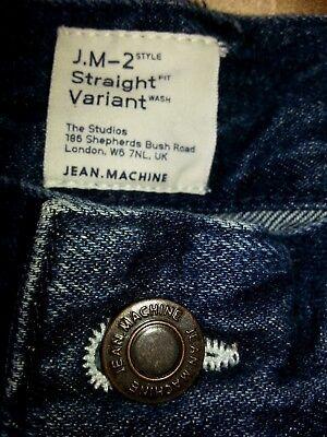 "NEW Boys' BLUE Jeans JEAN.MACHINE ORIGINAL, W 32"" L 32"",13-15 y. Great present! 5"