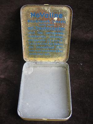Alte Blechdose Dr. Wolter's NoValine Knoblauch-Linsen - Preis 1,20 Reichsmark 8
