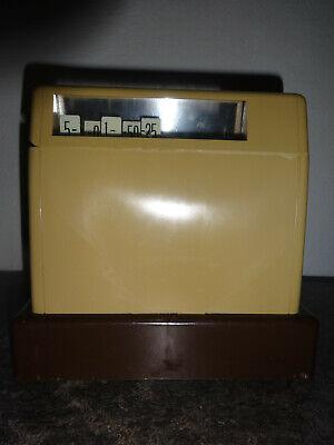 Große Kasse für Kaufladen mit Spielgeld Original 1963 4