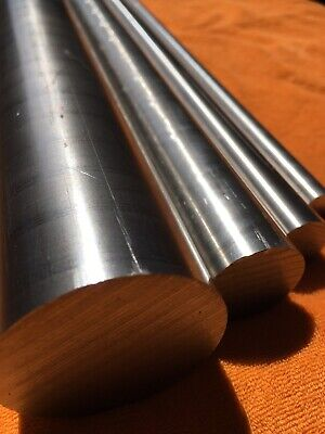 """STAINLESS STEEL Round Solid Rod 1//4/"""" to 2/"""" Diameter 100mm to 1000mm Long"""
