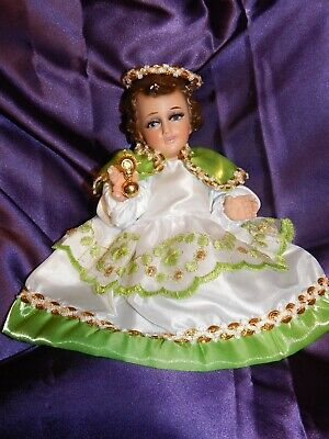 Baby Jesus Dress. Suaniita Angel de La Luz Vestido para Ni/ño Dios 15cm