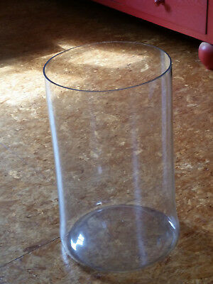 antikel riesiger Glasbehälter, Glas, Vorratsglas