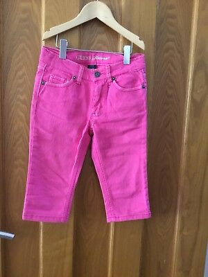 GUESS Cropped style trousers age 6 and Gap top age 6 2