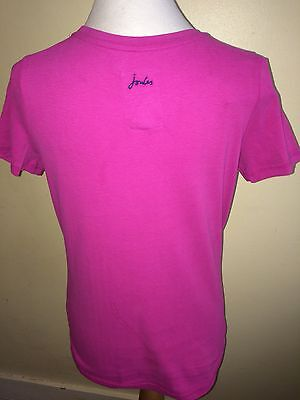 JOULES Burghley Horse Trials Official T-Shirt Tee Sz 10 12 14  FreeUKP&P 2