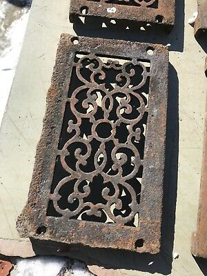 Rl 4 13 Av Price Each Antique cast-iron heating great with foot 4.75 x 8.5 3