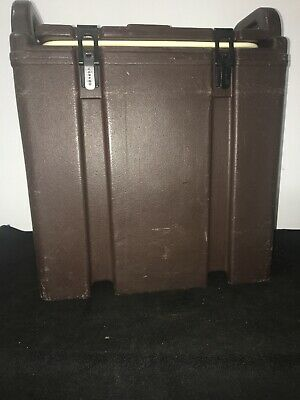 Cambro Brown Insulated Soup/Beverage Carrier 350LCD 3.3/8 Gallon Capacity. #12 5