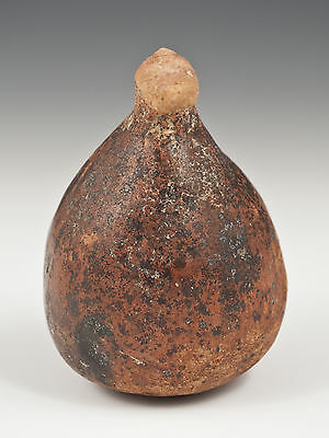 Small Narino Pre-Columbian Pot with Protruding Face, Ecuador 3