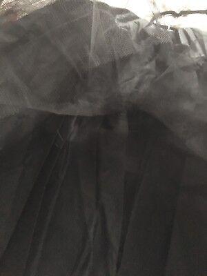 BLACK Multilayer Crinoline Petticoat  Underskirt 2